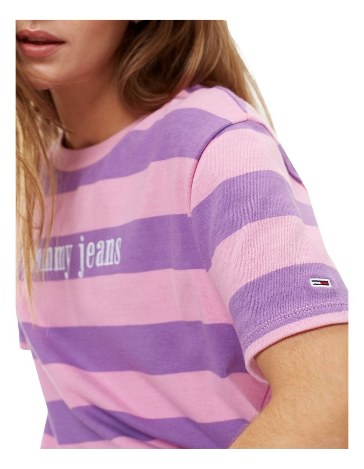 Color Stripe Tee image 3