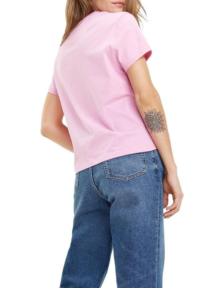 Cotton Jersey Logo T-Shirt image 4