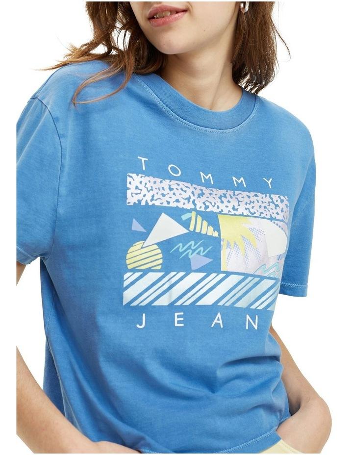 Cropped Surf Logo T-Shirt image 4