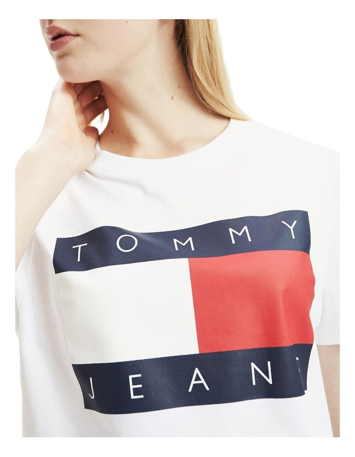 Cropped Fit Flag T-Shirt image 2