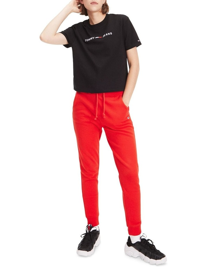 Logo Cropped Fit T-Shirt image 3