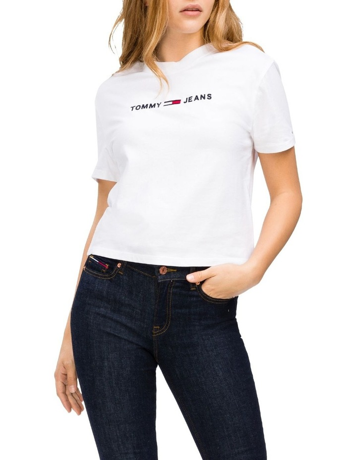 TJW Logo Cropped Fit T-Shirt image 1