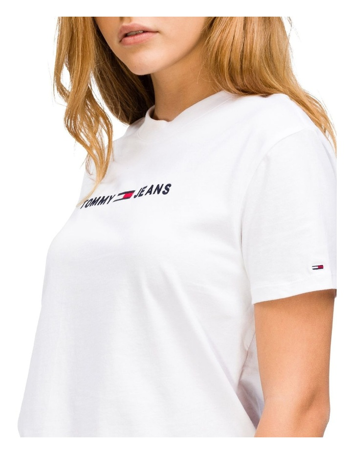 TJW Logo Cropped Fit T-Shirt image 3