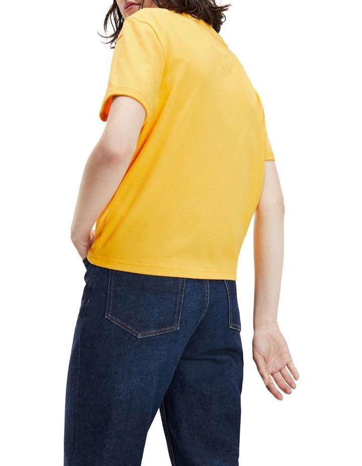 Badge Boyfriend Fit T-Shirt image 4