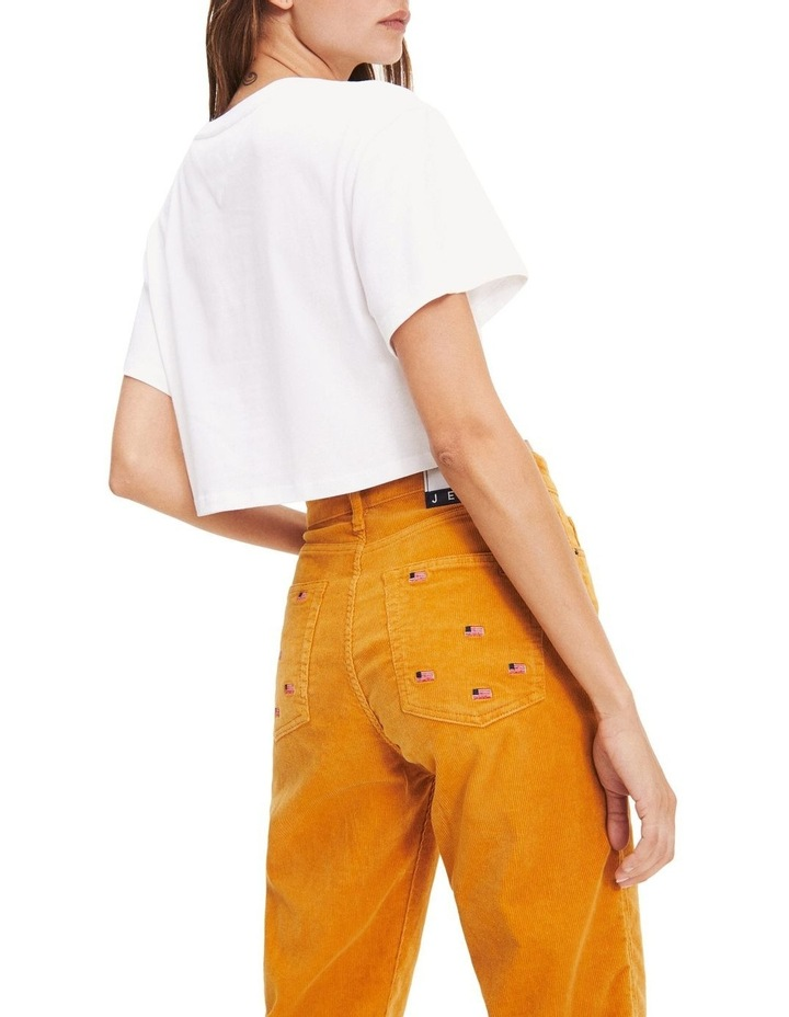 Cropped Fit Flag T-Shirt image 4