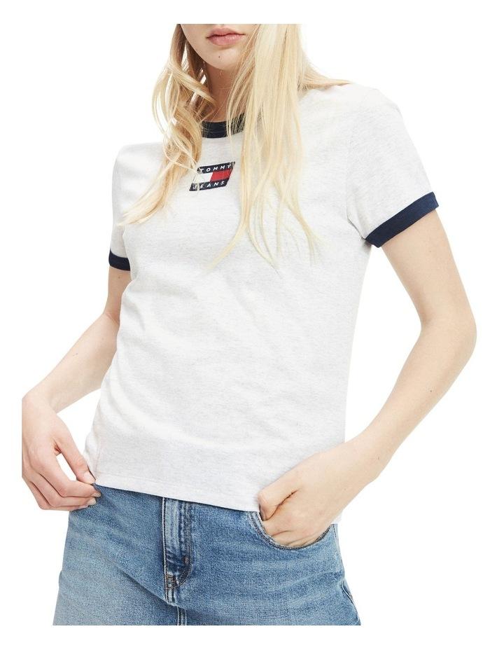 Badge Detail Regular Fit T-Shirt image 1