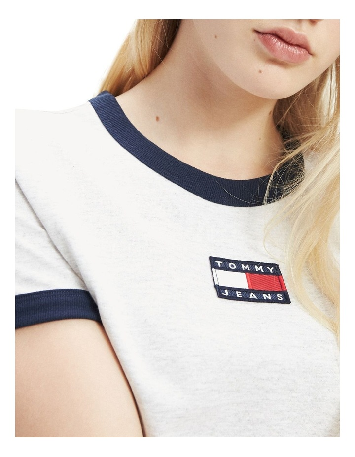 Badge Detail Regular Fit T-Shirt image 3