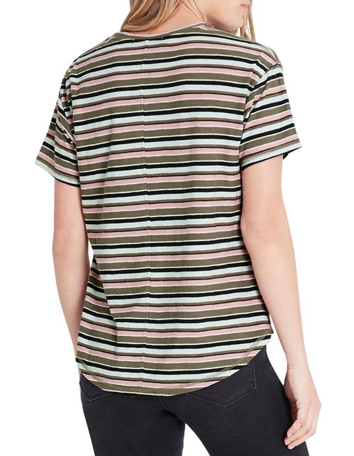 Becky Utility Multi Stripe Tee image 2