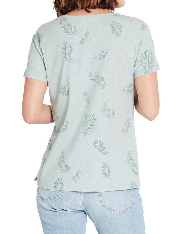 Romy Mint Palm Tee image 2