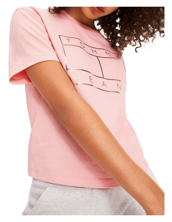 Metallic Logo Cropped T-Shirt image 2