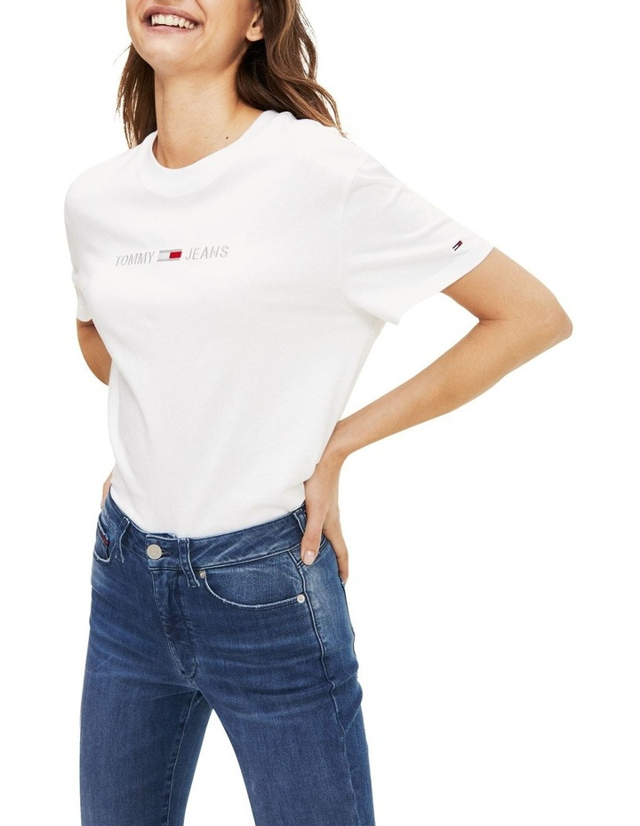 Organic Cotton Cropped T-Shirt image 1
