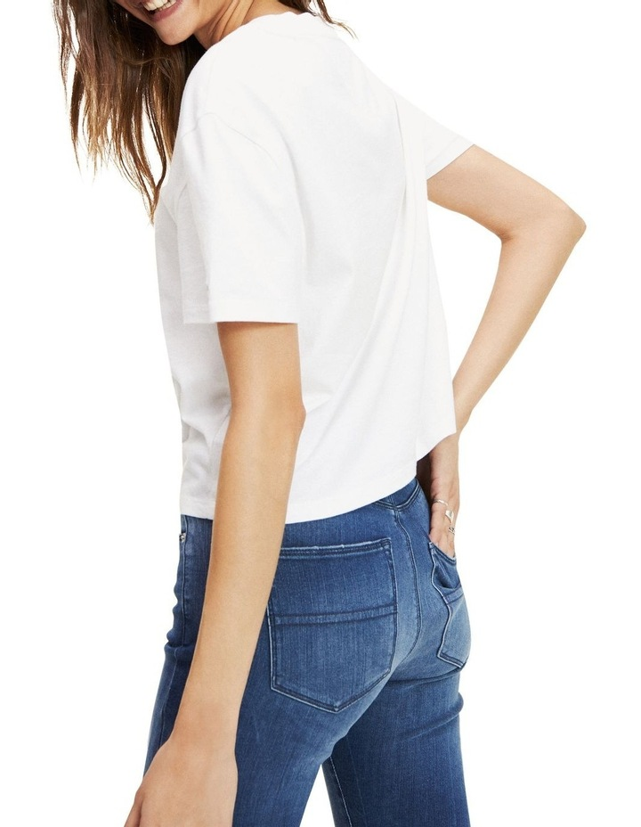 Organic Cotton Cropped T-Shirt image 3