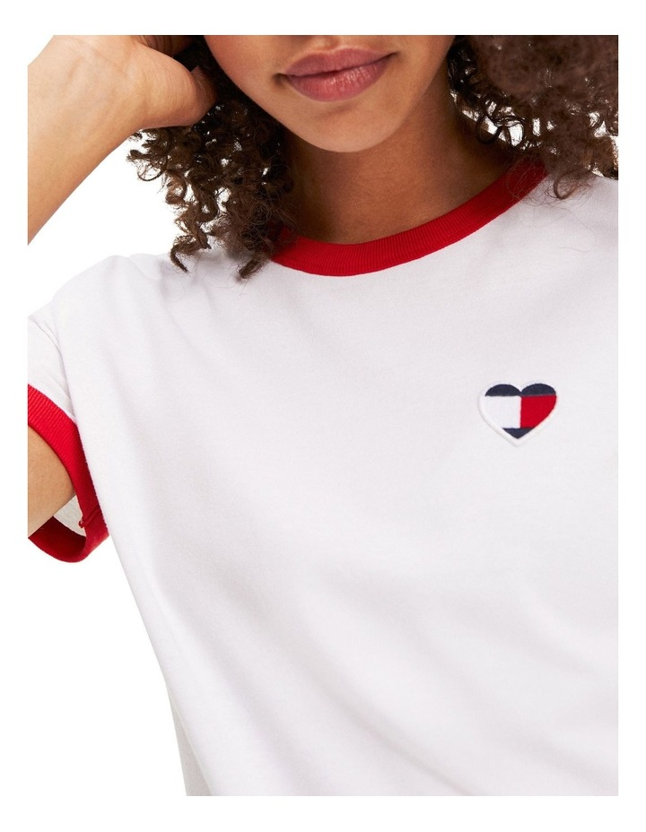 Retro Heart Flag T-Shirt image 4