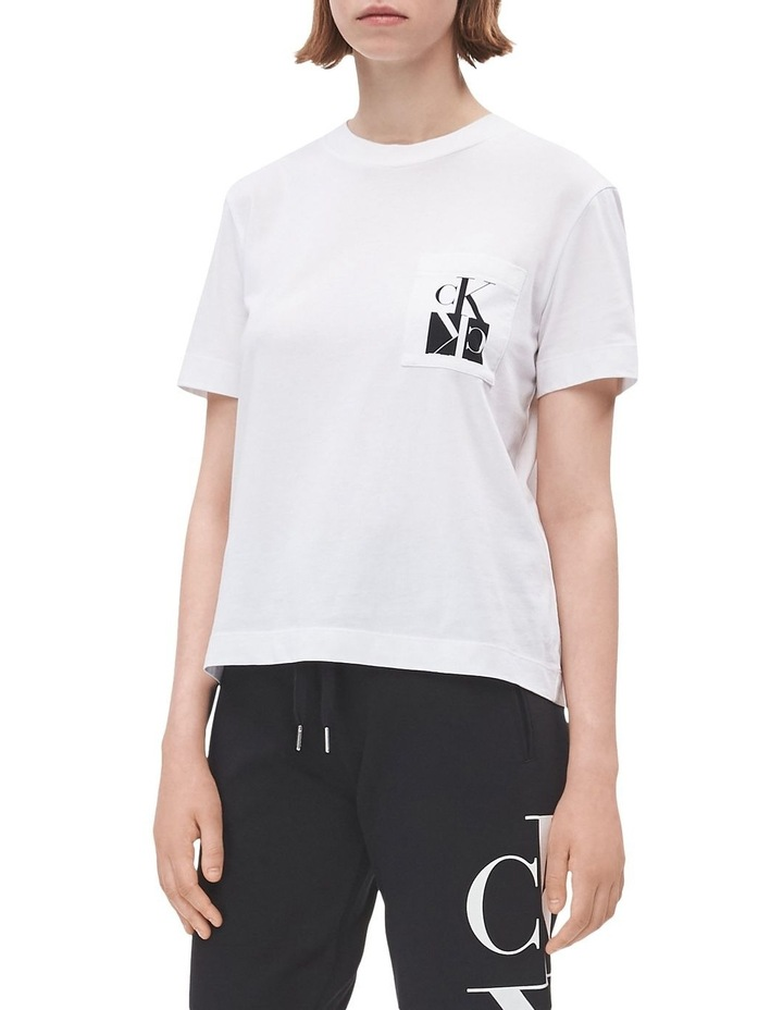 Mirrored Monogram Pocket Tee image 1
