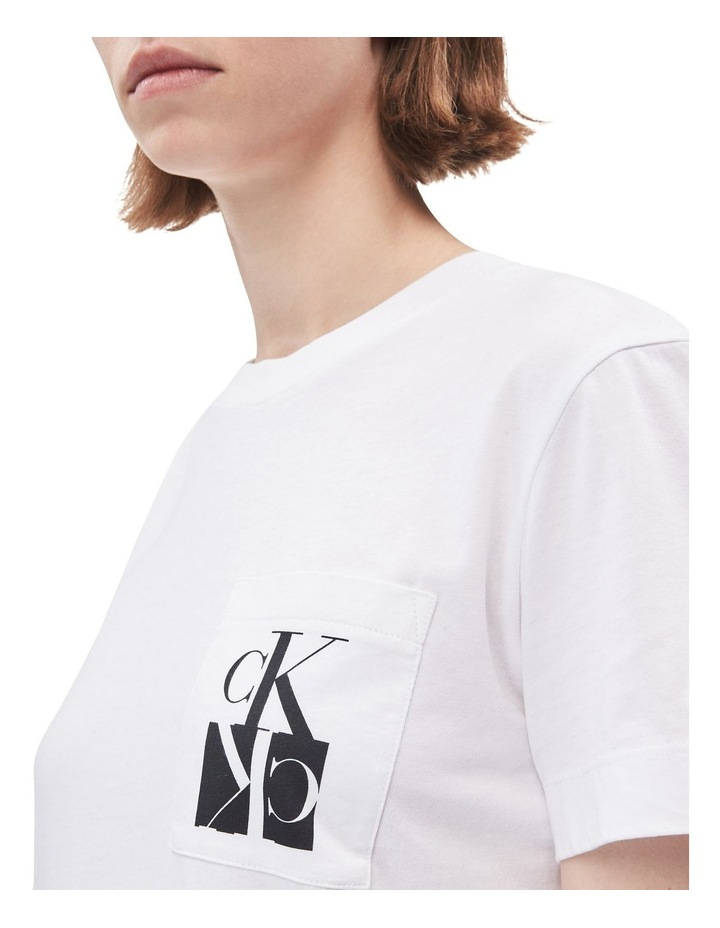 Mirrored Monogram Pocket Tee image 4