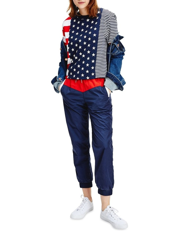 Stars And Stripes Cropped T-Shirt image 1