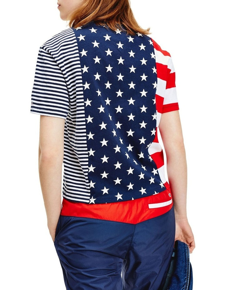 Stars And Stripes Cropped T-Shirt image 2