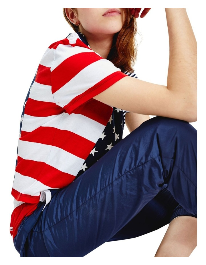 Stars And Stripes Cropped T-Shirt image 3