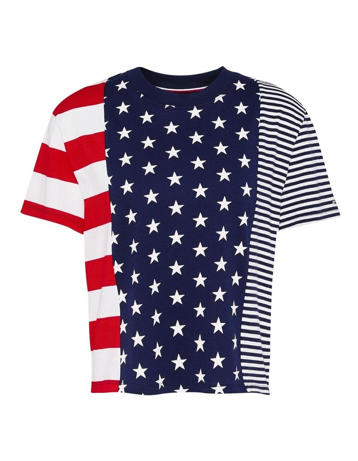 Stars And Stripes Cropped T-Shirt image 5