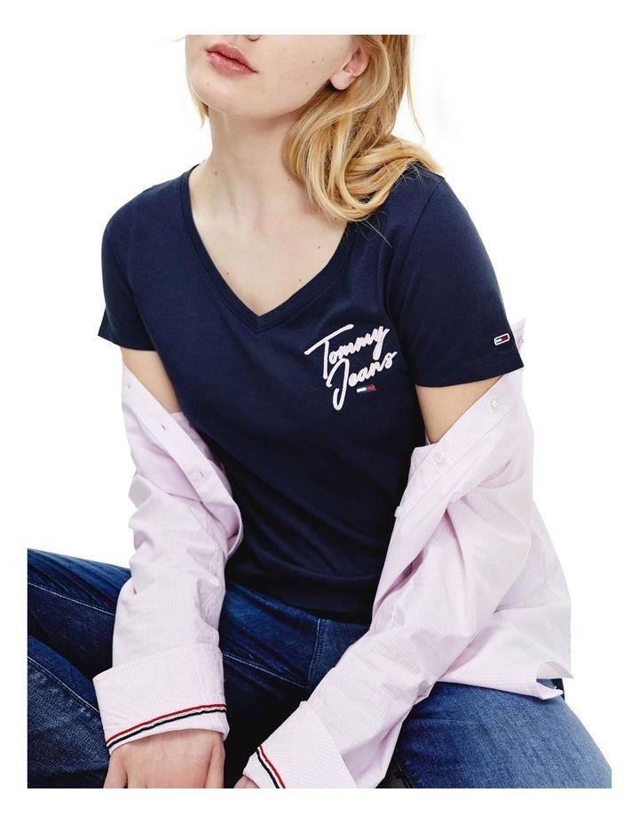 Essential V-Neck T-Shirt image 2