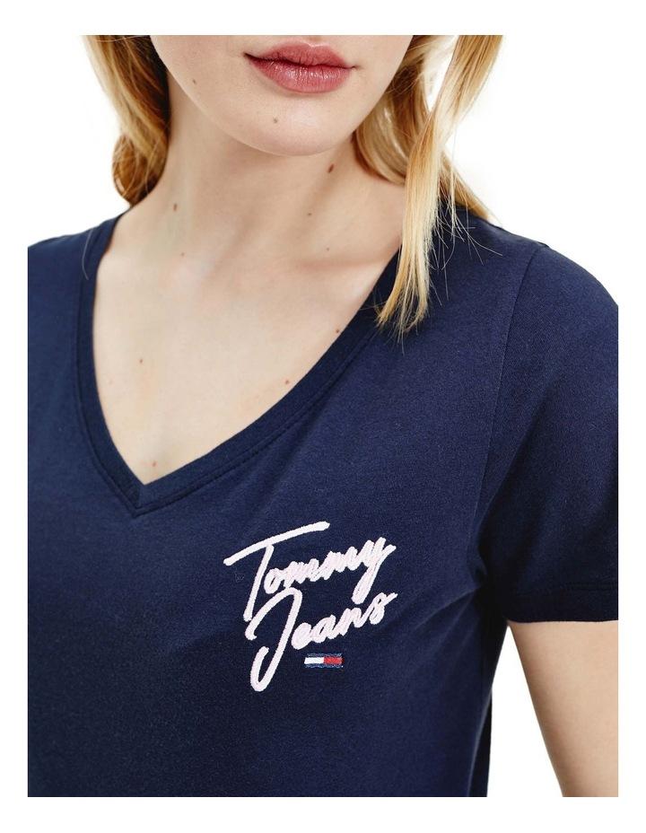 Essential V-Neck T-Shirt image 4