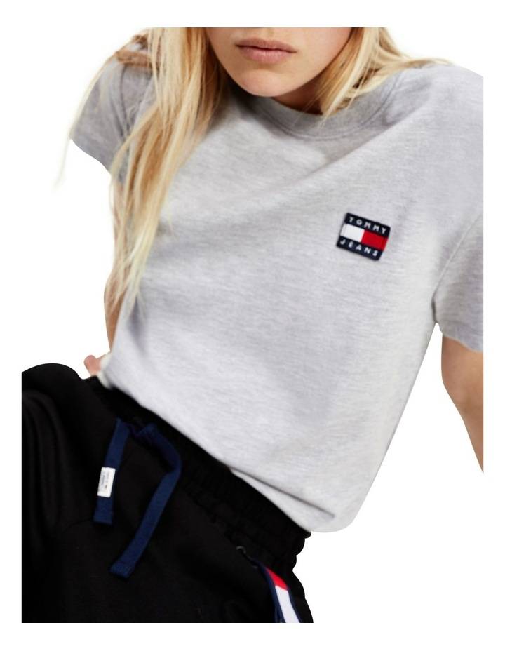 Badge Cropped Fit T-Shirt image 1