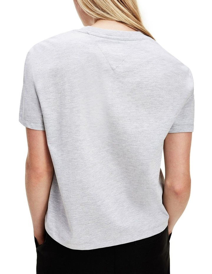 Badge Cropped Fit T-Shirt image 2
