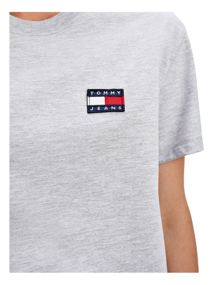 Badge Cropped Fit T-Shirt image 3
