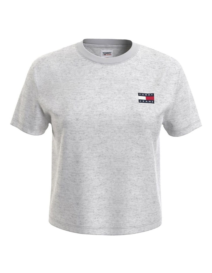 Badge Cropped Fit T-Shirt image 4
