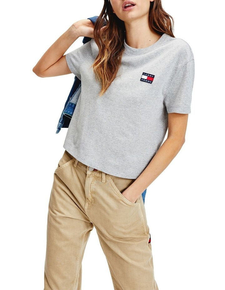 Badge Cropped T-Shirt image 1