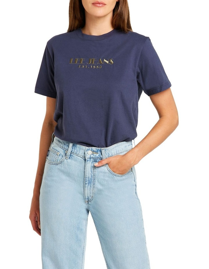 Classic Tee French Navy image 1