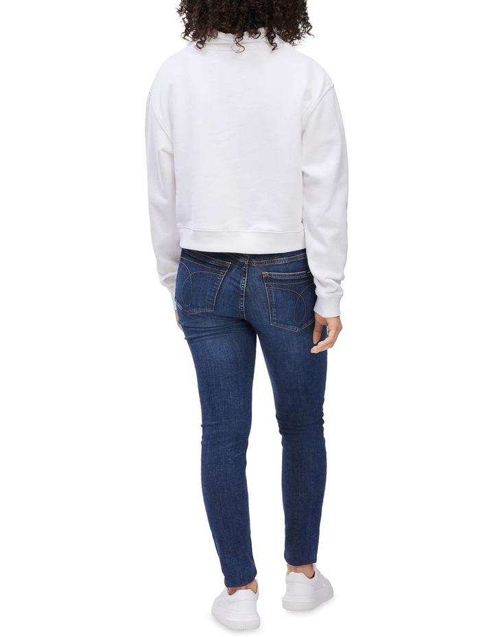 Palm Print Sweatshirt Bright White image 2
