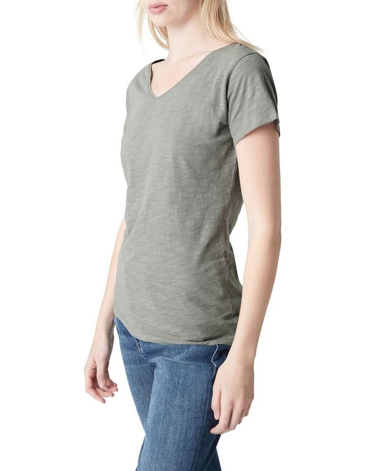 Luna V-Neck T-Shirt image 3