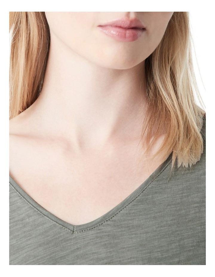 Luna V-Neck T-Shirt image 4
