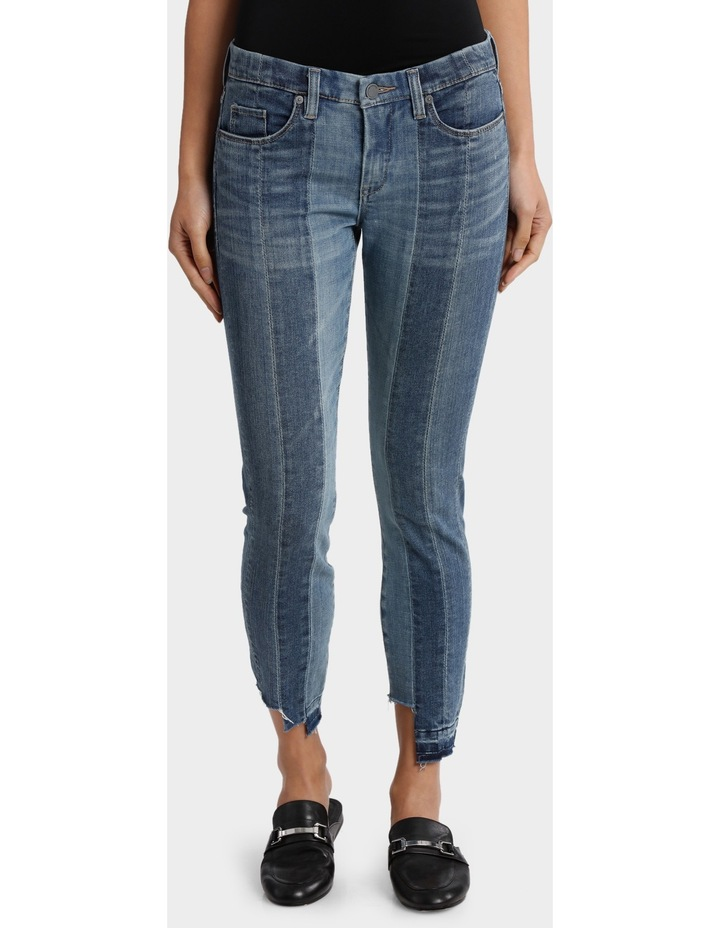 High and Low Jeans image 1