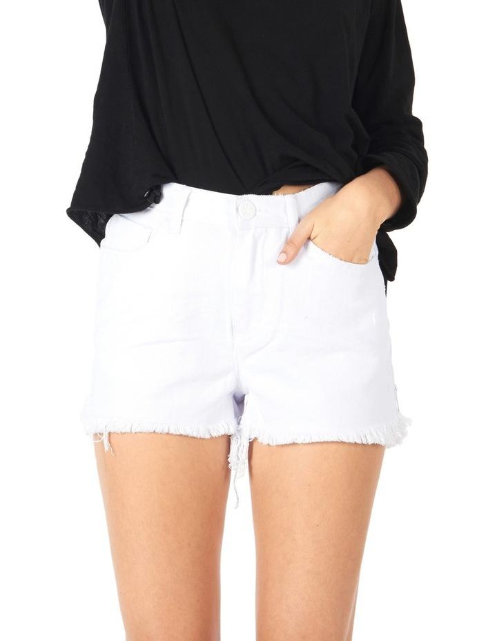 High Waisted Bonita Denim Shorts image 1