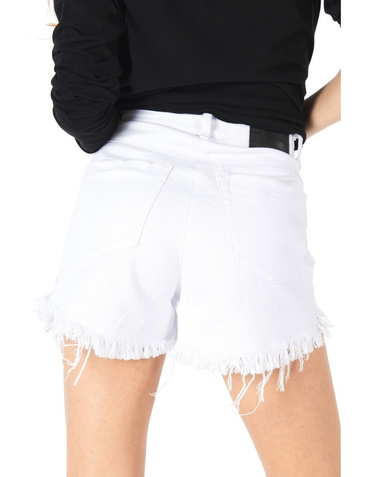 High Waisted Bonita Denim Shorts image 2