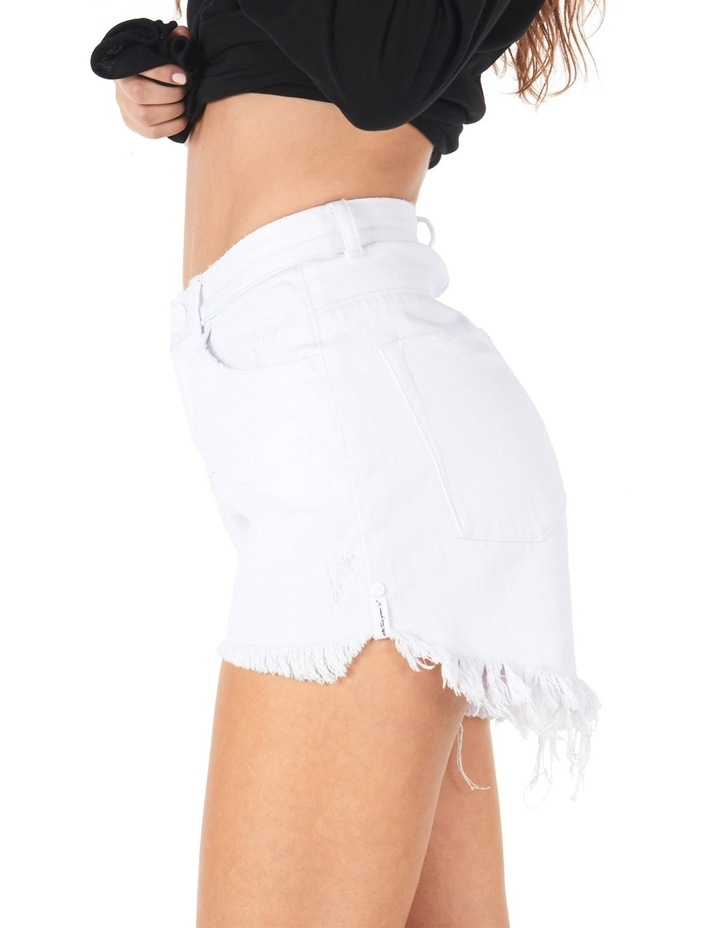 High Waisted Bonita Denim Shorts image 3