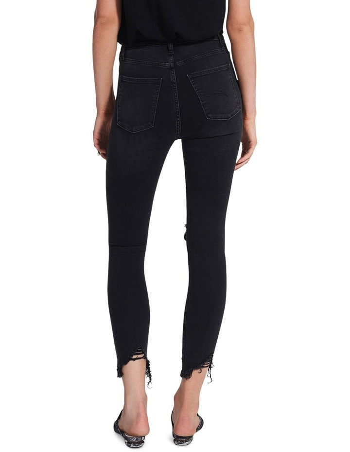 Siren Skinny Ankle Disclosed (washed black) image 2