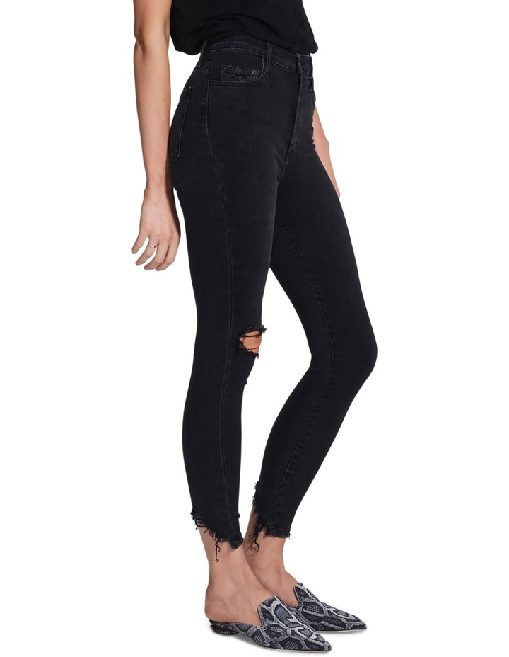 Siren Skinny Ankle Disclosed (washed black) image 3