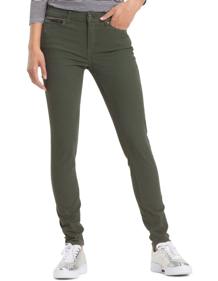 Stretch Cotton Trousers image 1