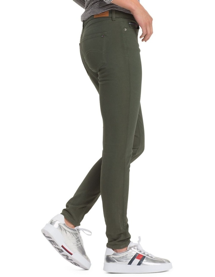 Stretch Cotton Trousers image 3