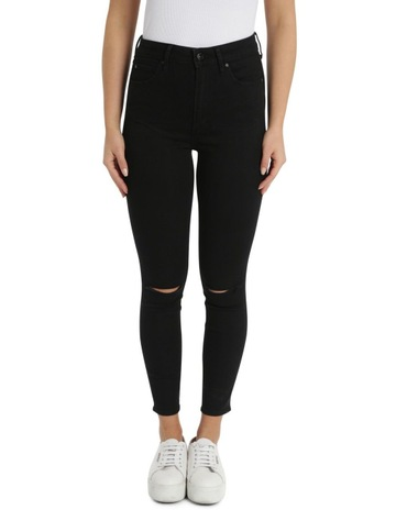 Slit Knee Black Tar colour