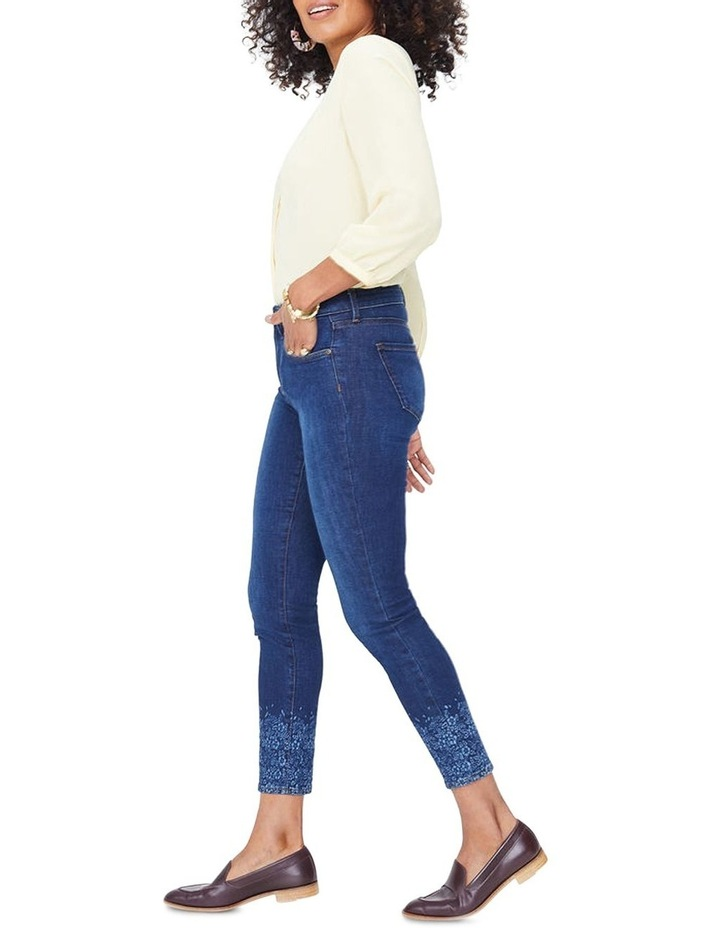 Ami Skinny Ankle With Floral Long Sleever image 2
