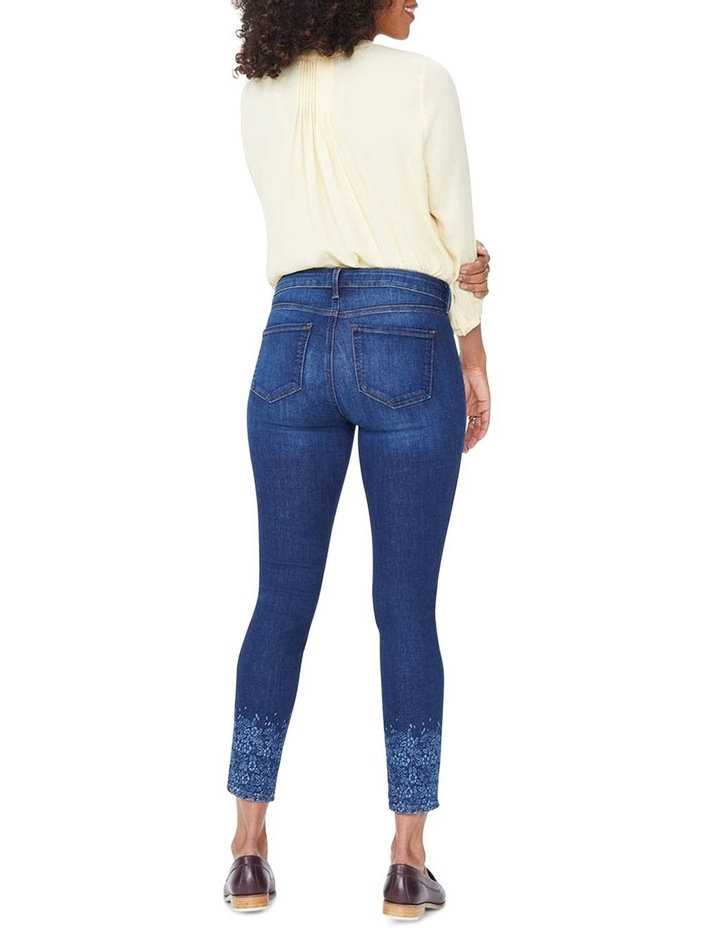 Ami Skinny Ankle With Floral Long Sleever image 3