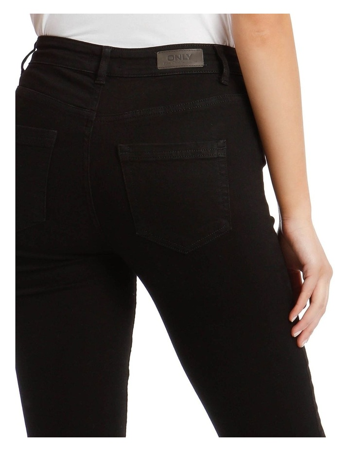Black High Waist Skinny Jean image 4