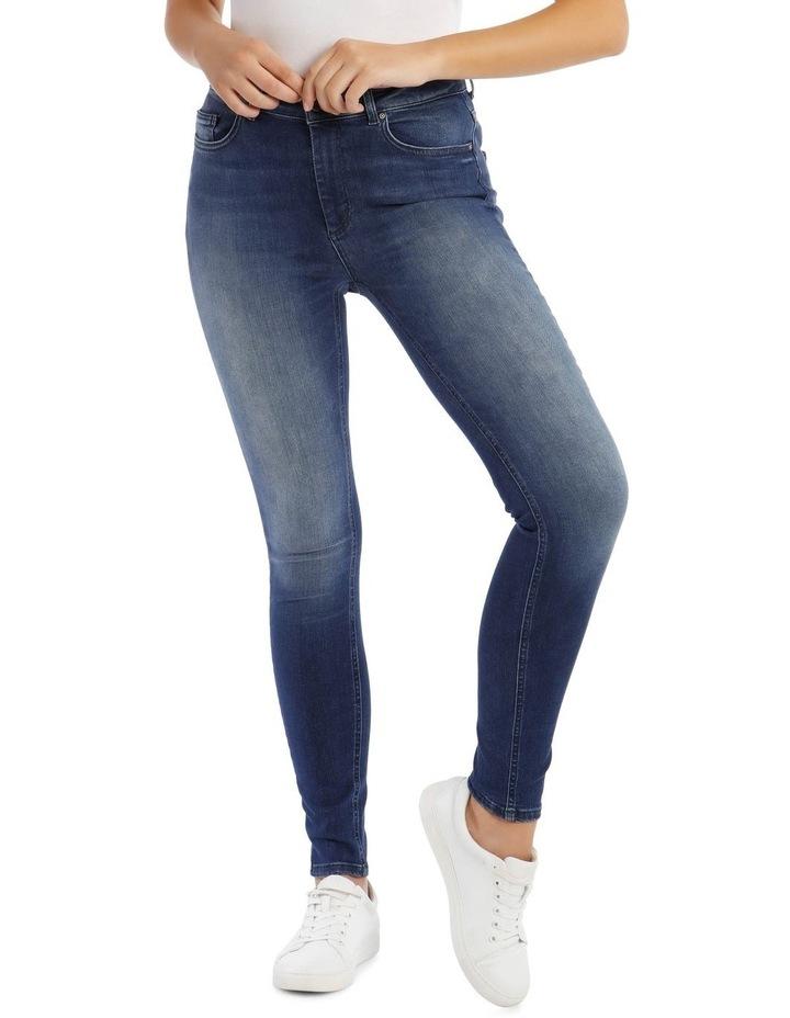 Blue Denim Skinny Jeans image 1