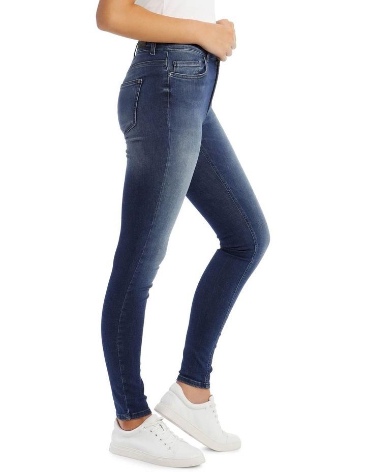 Blue Denim Skinny Jeans image 2
