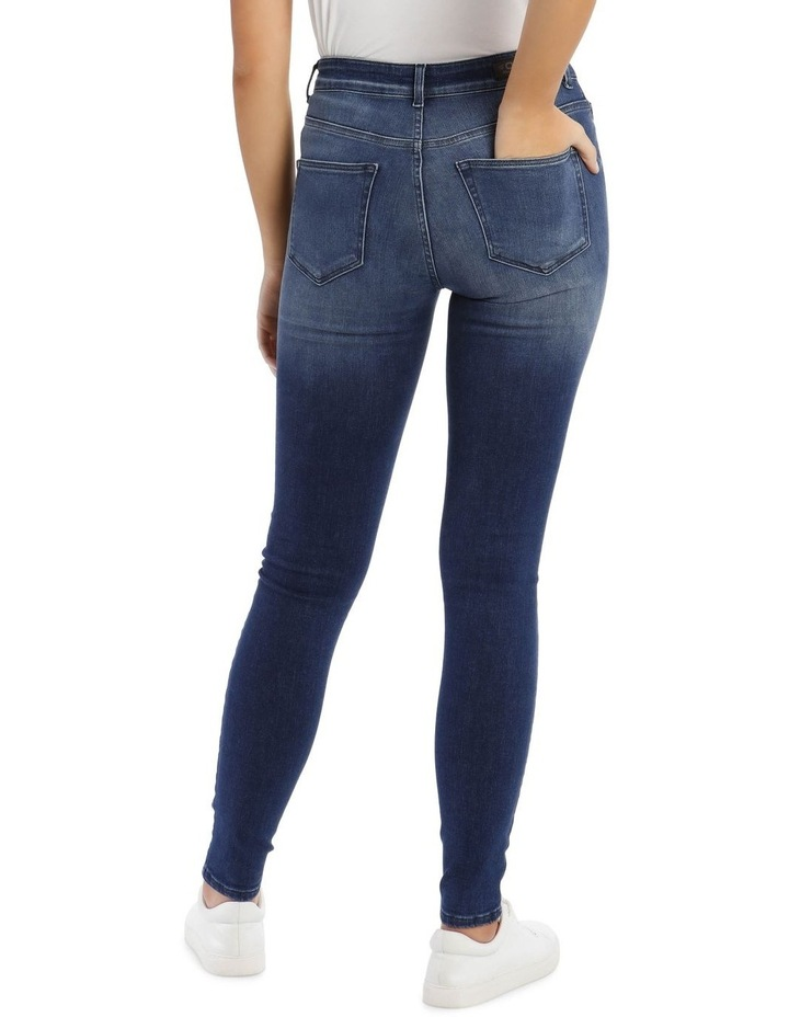 Blue Denim Skinny Jeans image 3