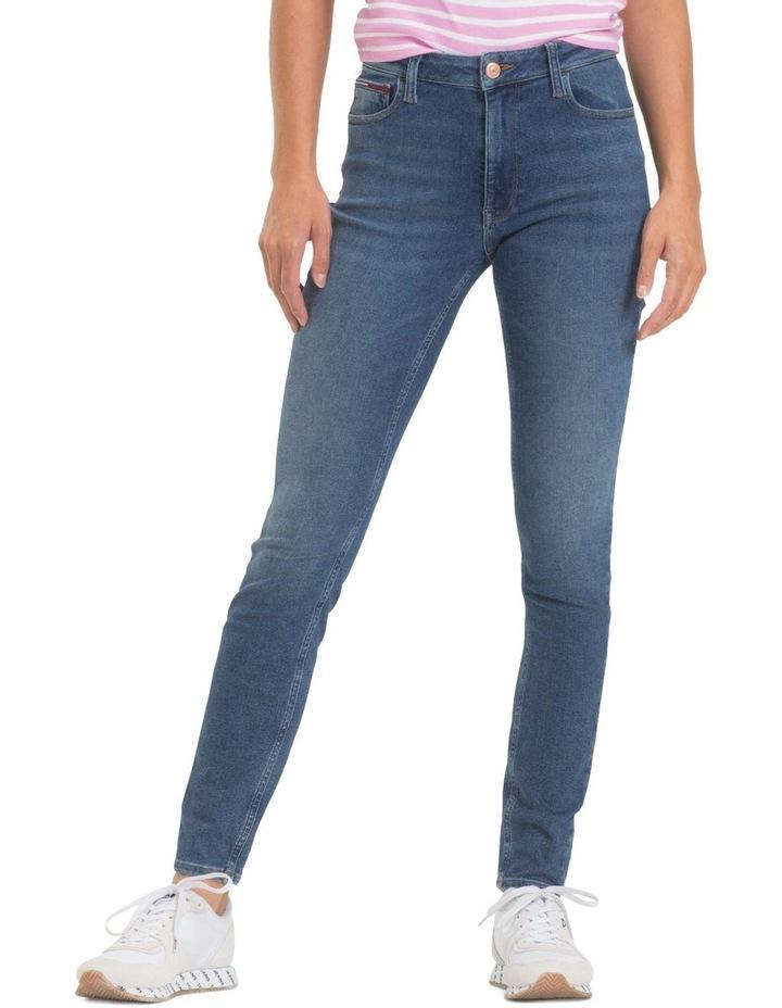 Santana Ankle-Grazer Skinny Jeans image 1